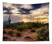 An Evening In The Desert  Tapestry