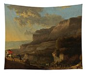 An Italianate Landscape With Travellers Ambushed By Bandits Tapestry