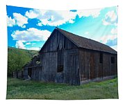 An Old Barn In The Sage Tapestry