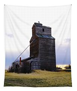 An Old Grain Elevator Tapestry