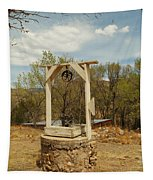 An Old Well In Lincoln City New Mexico Tapestry