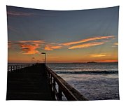 Anacapa Island Pier Tapestry