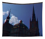 Anaglyph Church Tapestry