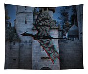 Anaglyph Dragon Tapestry