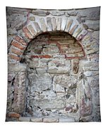 Ancient Bricked Up Window  Tapestry