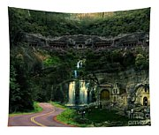 Ancient Caves And Nature Tapestry