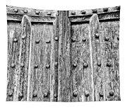 Ancient Church Door Tapestry
