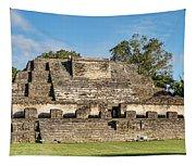 Ancient Mayan Ruins, Altun Ha, Belize Tapestry