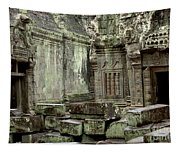 Ancient Ruins Cambodia Tapestry