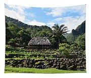 Ancient Taro Gardens In Kauai Tapestry