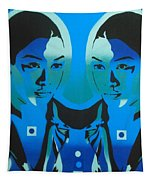 Android Twins Tapestry