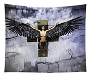 Angel Cube Tapestry