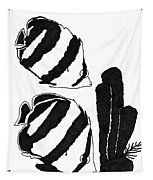 Angel Fish Art - Little Angels - By Sharon Cummings Tapestry