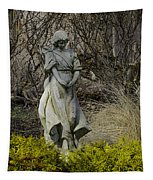 Angel In The Garden Tapestry