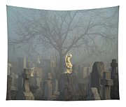 Angel Mist Cemetery Tapestry