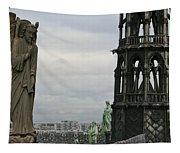 Angel Over Paris Tapestry
