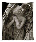 Angel Photography Spiritual Angel  - Guardian Angel In Prayer - Angel Praying  Tapestry