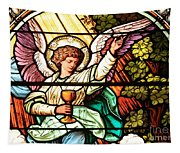 Angel With A Chalice Tapestry