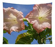 Angel's Trumpet Tapestry