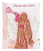 Angels We Have Heard On High Tapestry
