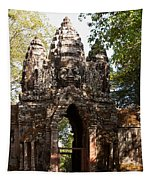 Angkor Thom North Gate 01 Tapestry