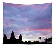 Angkor Wat Sunrise 02 Tapestry