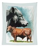 Angus Cattle Tapestry