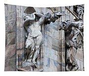 Animal Gargoyles Duomo Di Milano Italia Tapestry