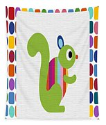 Animals Whimsical 3 Tapestry