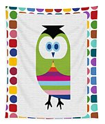 Animals Whimsical 5 Tapestry