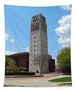 Ann Arbor Michigan Clock Tower Tapestry