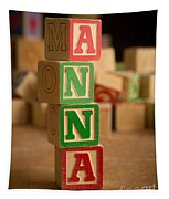 Anna - Alphabet Blocks Tapestry