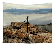 Antelope Island Sunset - 3 Tapestry