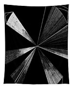 Antenna- Black And White  Tapestry