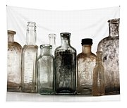 Antique Bottles Tapestry