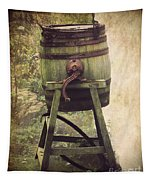 Antique Butter Churn Tapestry