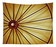 Antique Farm Wheel Tapestry