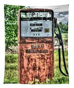 Antique Gas Pump 1 Tapestry