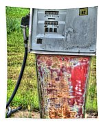 Antique Gas Pump 3 Tapestry