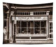 Antique Guns And Swords - French Quarter Tapestry