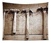 Antique Hammers Tapestry