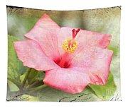 Antique Hibiscus Tapestry