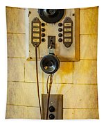 Antique Intercom Tapestry