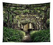 Antique Pergola Arbor Tapestry