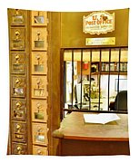Antique Post Office Letter Boxes At The Boardwalk Plaza In Rehoboth Beach Delaware Tapestry