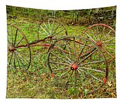 Antique Wagon Frame Tapestry