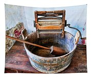Antique Washing Machine Tapestry