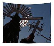 Apache Dancers Tapestry