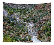 Apache Trail River View Tapestry