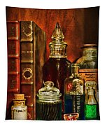Apothecary - Vintage Jars And Potions Tapestry